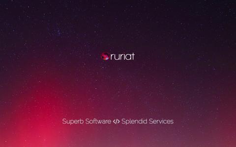Screenshot of Contact Page ruriat.com - Contact — Ruriat - captured Sept. 30, 2014