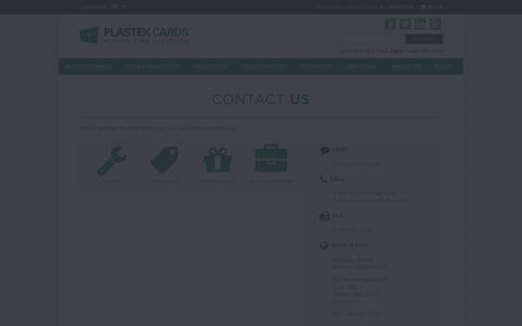 Plastic Business Cards/Membership/Loyalty/Gift Cards   Plastek Cards