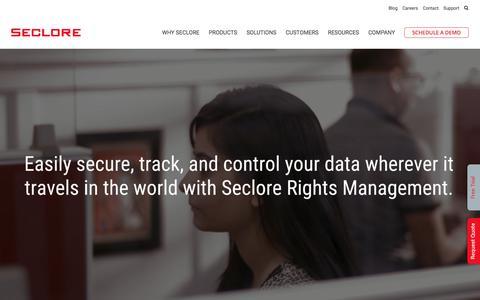 Seclore | Advanced Enterprise Rights Management Solutions