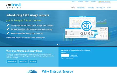 Entrust Energy - Home