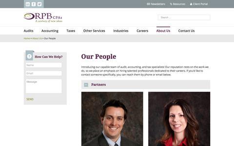 Screenshot of Team Page rpb.biz - Meet Our People | Reilly, Penner & Benton CPAs - captured Oct. 21, 2017