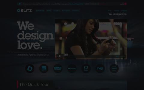 Screenshot of Contact Page blitzagency.com - BLITZ – Full Service Digital Agency with Social Media Agency Capabilities - captured Oct. 27, 2014