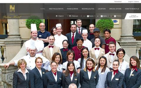 Screenshot of Team Page palacehotel.it - Hotel Staff - Hotel city centre - hotel in Como | Palace Hotel - captured Nov. 29, 2016