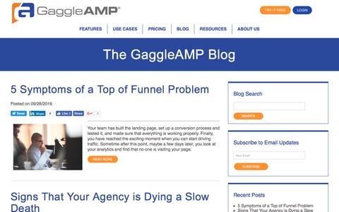 The GaggleAMP Blog