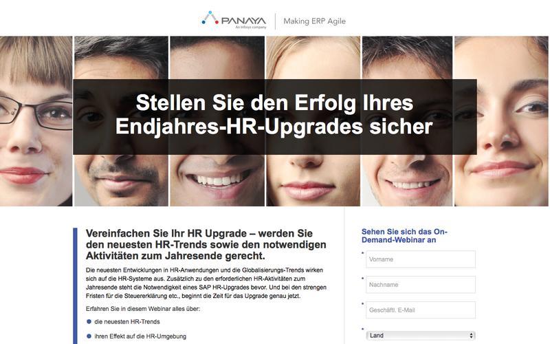 Stellen Sie den Erfolg Ihres Endjahres-Upgrades für Ihr SAP HR-System sicher – Panaya
