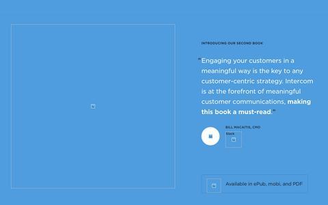 Intercom on Customer Engagement book