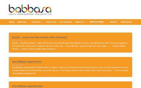 Screenshot of Blog byep.org.uk - Blog - Babbasa - captured Nov. 22, 2016