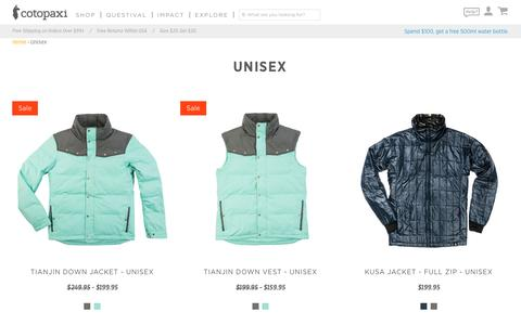 Unisex – Cotopaxi - Gear For Good