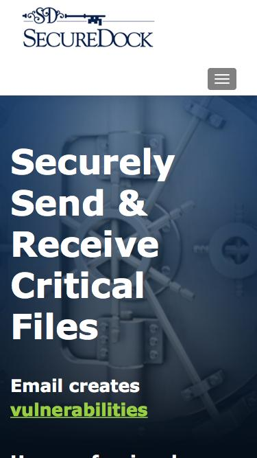 SecureDock - Securely Send & Receive Critical Files