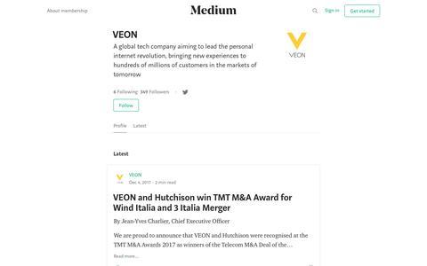 VEON – Medium