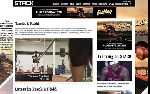Track & Field | STACK