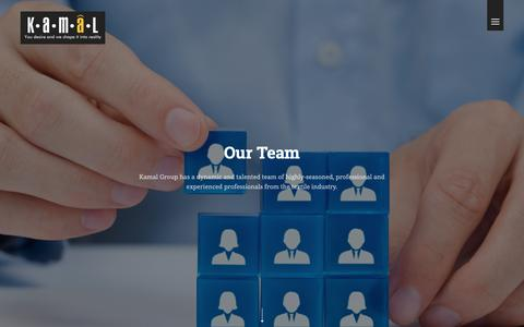 Screenshot of Team Page kamalpk.com - Kamal Hosiery Mills | Manufacturer & Exporter All types of Socks & Terry Towel - captured Oct. 14, 2018