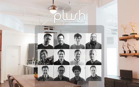 Screenshot of Team Page plushnyc.com - TEAM — PLUSH NYC - captured Nov. 4, 2018