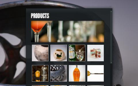 Screenshot of Products Page gopho.com - products | gopho collective - captured Feb. 2, 2016