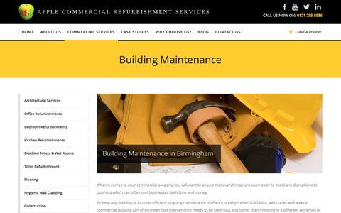 Building Maintenance Birmingham