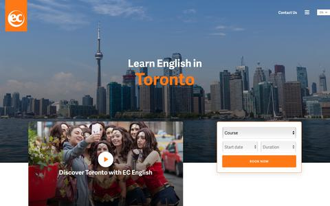 Learn English in Toronto – ESL Toronto English Schools