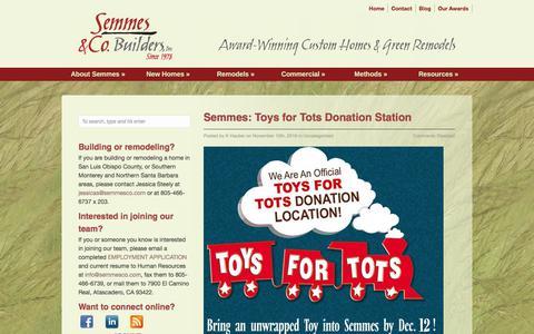 Screenshot of Blog semmesco.com - Blog   Semmes & Co. Builders, Inc. - captured Oct. 19, 2017