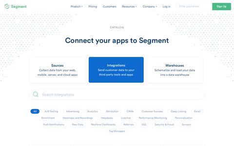 Catalog | Segment
