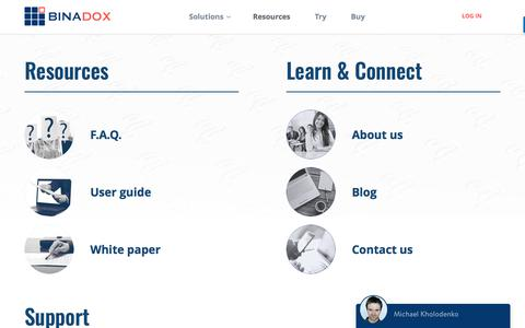 Resources | Binadox