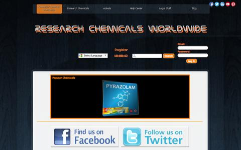 Screenshot of Home Page research-chemicals-worldwide.com - Research Chemicals Worldwide - Research Chemicals Worldwide - captured Sept. 30, 2014
