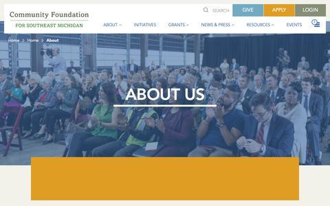 Screenshot of About Page cfsem.org - About - CFSEM : CFSEM - captured Sept. 29, 2018