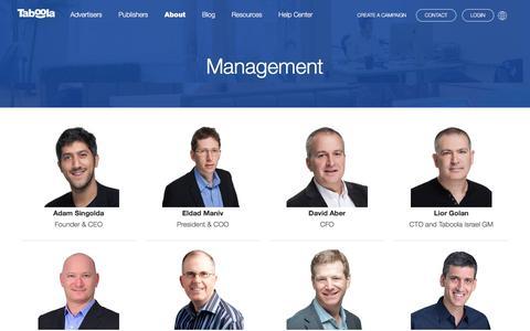 Management | Taboola.com