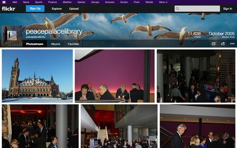Screenshot of Flickr Page flickr.com - Flickr: peacepalacelibrary's Photostream - captured Oct. 22, 2014