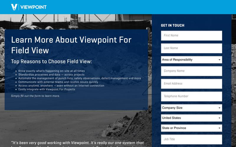 Learn More About Viewpoint For Field View