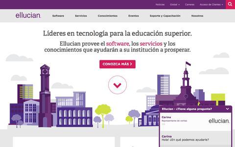 Líderes en tecnología para la educación superior | Ellucian América Latina y el Caribe
