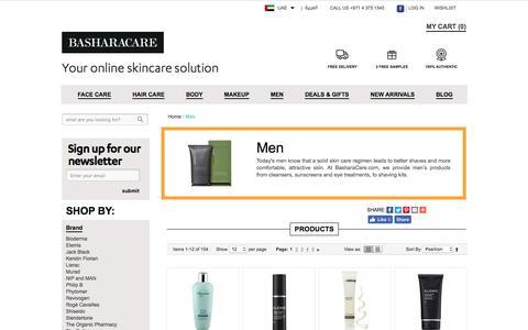 Skincare for Men Products Dubai Abu Dhabi UAE