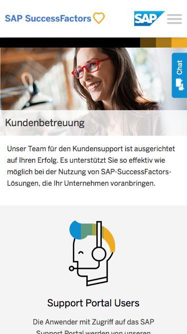 Support             | SuccessFactors