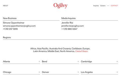 Contact | Ogilvy