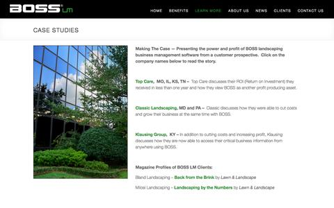 Case Studies | BOSS Landscape Management Software