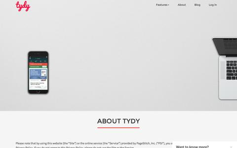 Create, share & analyze mobile content on tydy