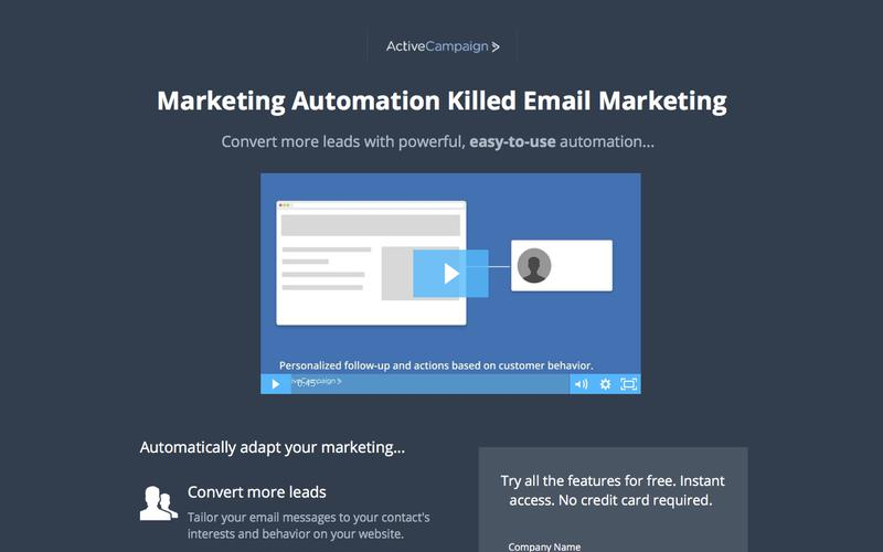 Email Marketing Automation From ActiveCampaign