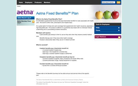 Voluntary Fixed Benefits Plan