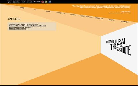 Screenshot of Jobs Page iti.edu.sg - Careers - captured Nov. 3, 2014