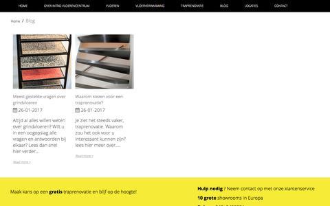 Screenshot of Blog introvloerencentrum.nl - Blog - captured May 10, 2017