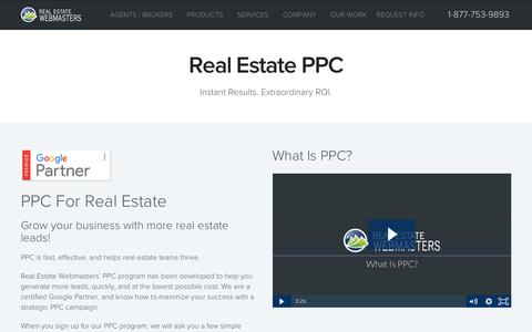 Real Estate PPC | Pay-Per-Click Marketing for Real Estate