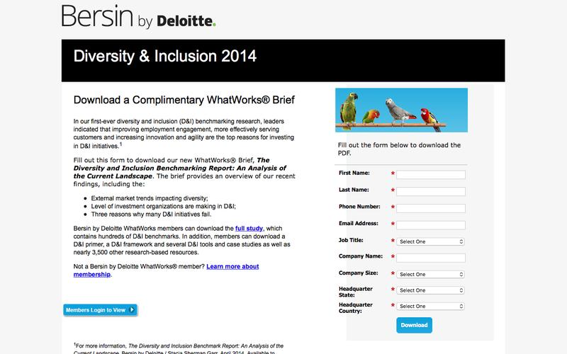 Diversity and Inclusion 2014