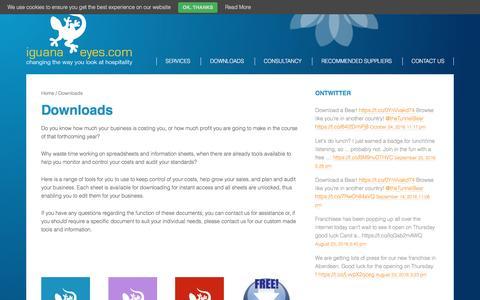 Screenshot of Signup Page iguana-eyes.com - Products – Iguana Eyes - captured Nov. 26, 2016