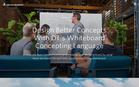 Screenshot of Blog dtelepathy.com - User Experience (UX) & Web Design Agency Đ San Diego Đ San Francisco - captured Dec. 2, 2015