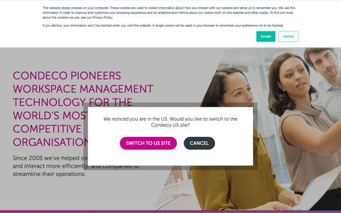 Screenshot of About Page condecosoftware.com - About Us - Condeco Software Asia Pacific - captured Jan. 22, 2019