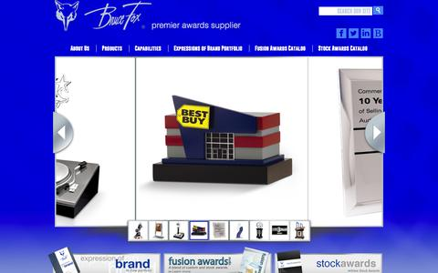 Screenshot of Home Page brucefox.com - Home   Bruce Fox - captured Oct. 5, 2014