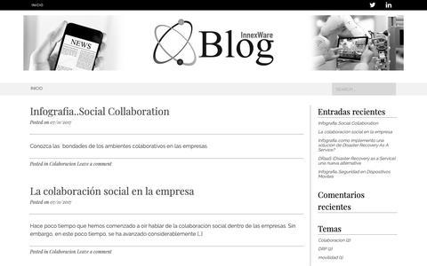 Screenshot of Blog innexware.com - InnexWare Blog - Blog - captured Nov. 6, 2018