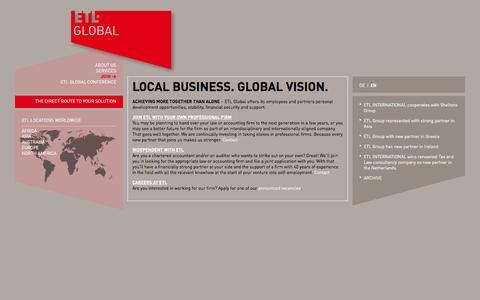 Screenshot of Signup Page etl-global.com - Join | ETL Global - captured Oct. 17, 2016