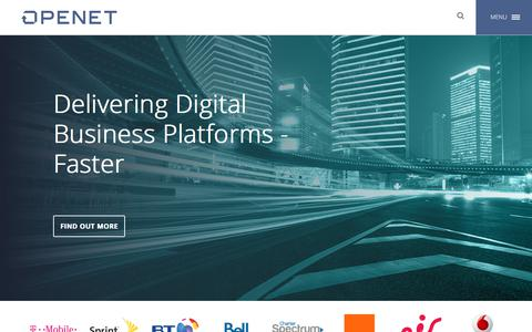 Openet, Delivering Digital Business Platforms – Faster