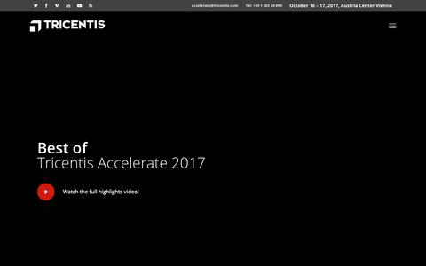 Tricentis Accelerate – Software Testing Conference