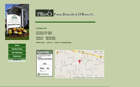 Screenshot of Contact Page homestead.com - ContactUs - captured Sept. 19, 2014