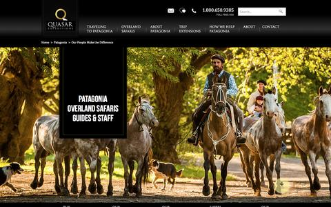 Screenshot of Team Page quasarex.com - Experience Luxury Adventure Travel From Quasar Expeditions - captured Jan. 13, 2017